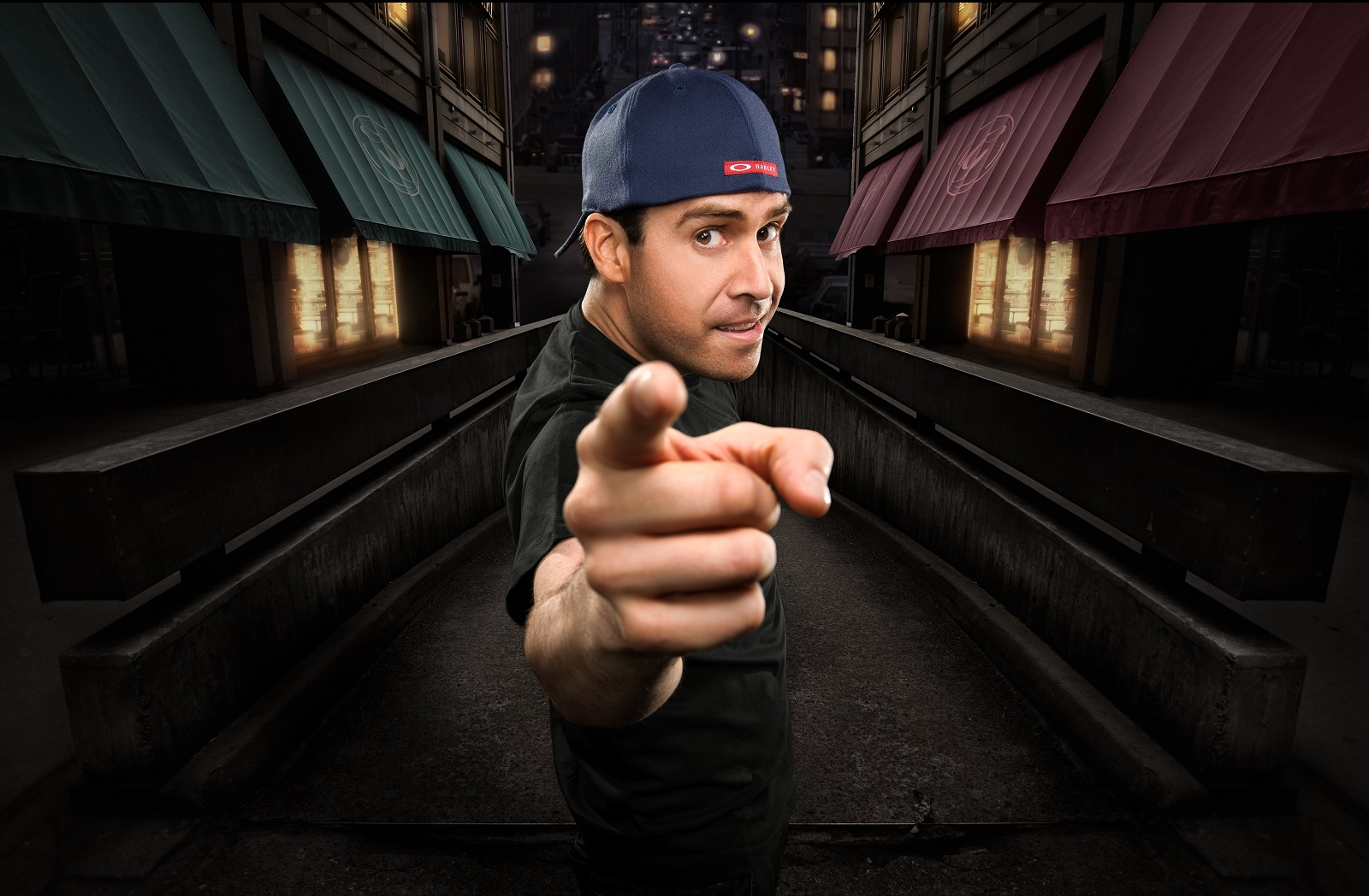 Comedian Pablo Francisco returns for five shows at Helium Comedy Club. (Photo by Thomas Whitehouse)