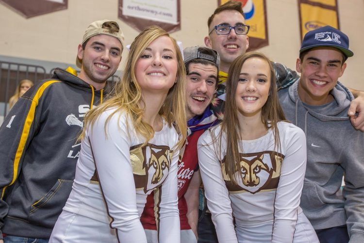 Smiles at St. Bonaventure basketball win over La Salle