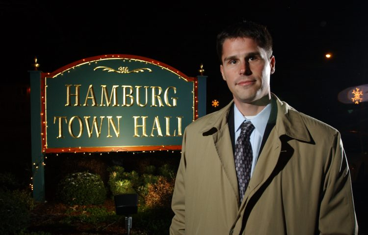 Hamburg Supervisor Steve Walters was first elected in 2005. (Buffalo News/file photo)