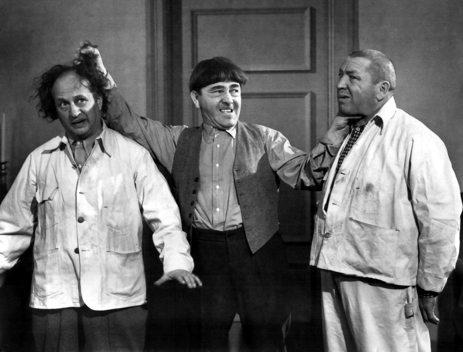 The Three Stooges return to the Riviera Theatre.