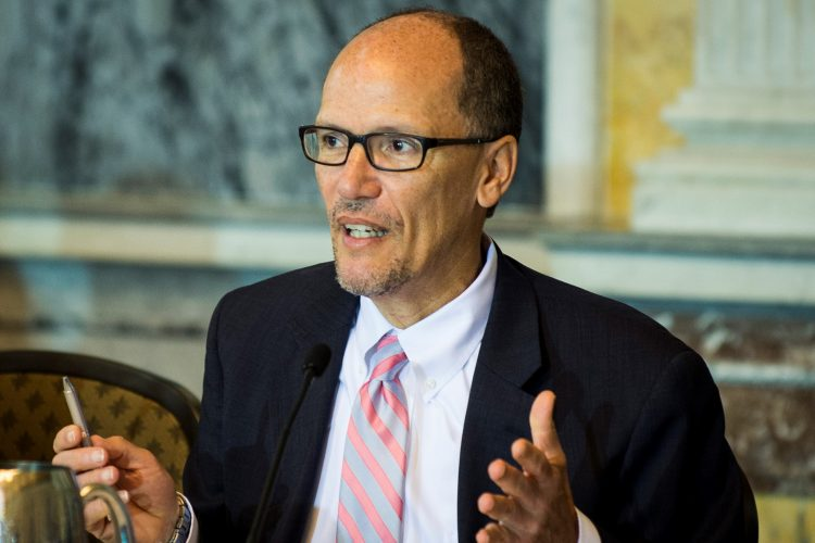 Perez wins DNC chairmanship on second ballot