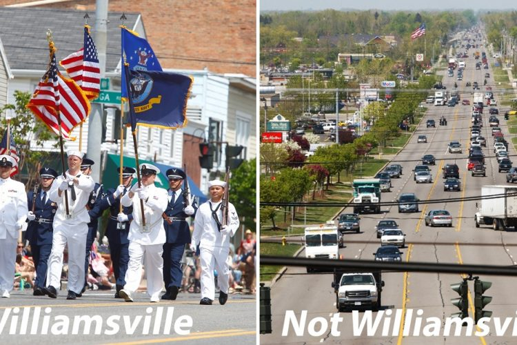 Column: You live in Williamsville? No, you don't.