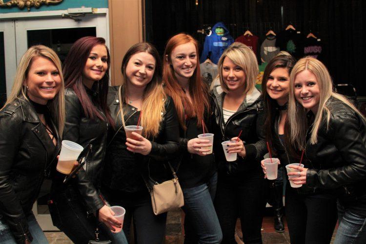 Smiles at Badfish concert at Town Ballroom