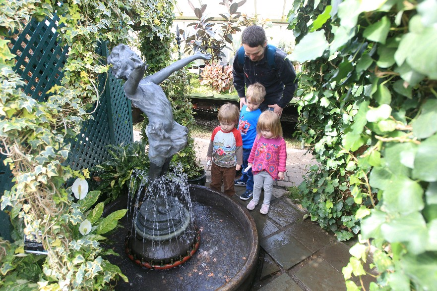 Wednesday is Kid's Day at the Buffalo and Erie County Botanical Gardens. (John Hickey/Buffalo News)