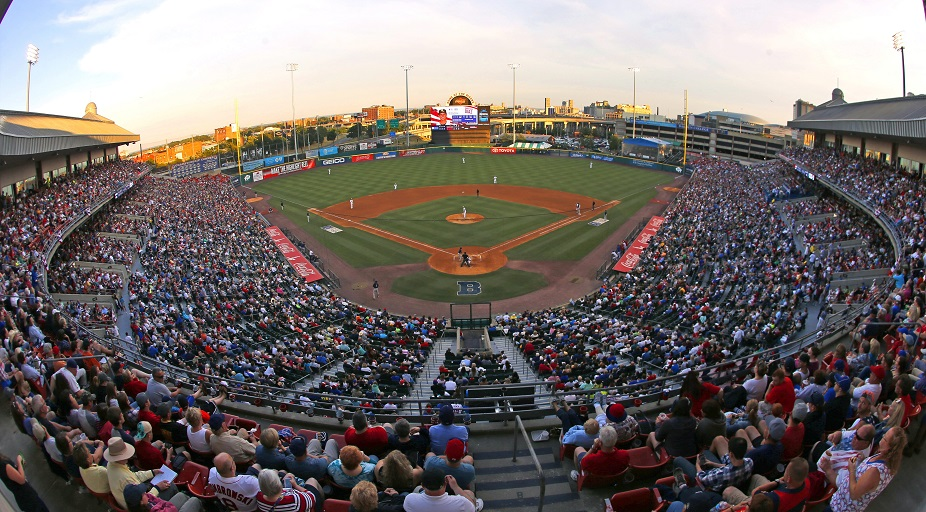 Coca-Cola Field celebrates its 30th anniversary on Wednesday. (Harry Scull Jr./Buffalo News file photo)