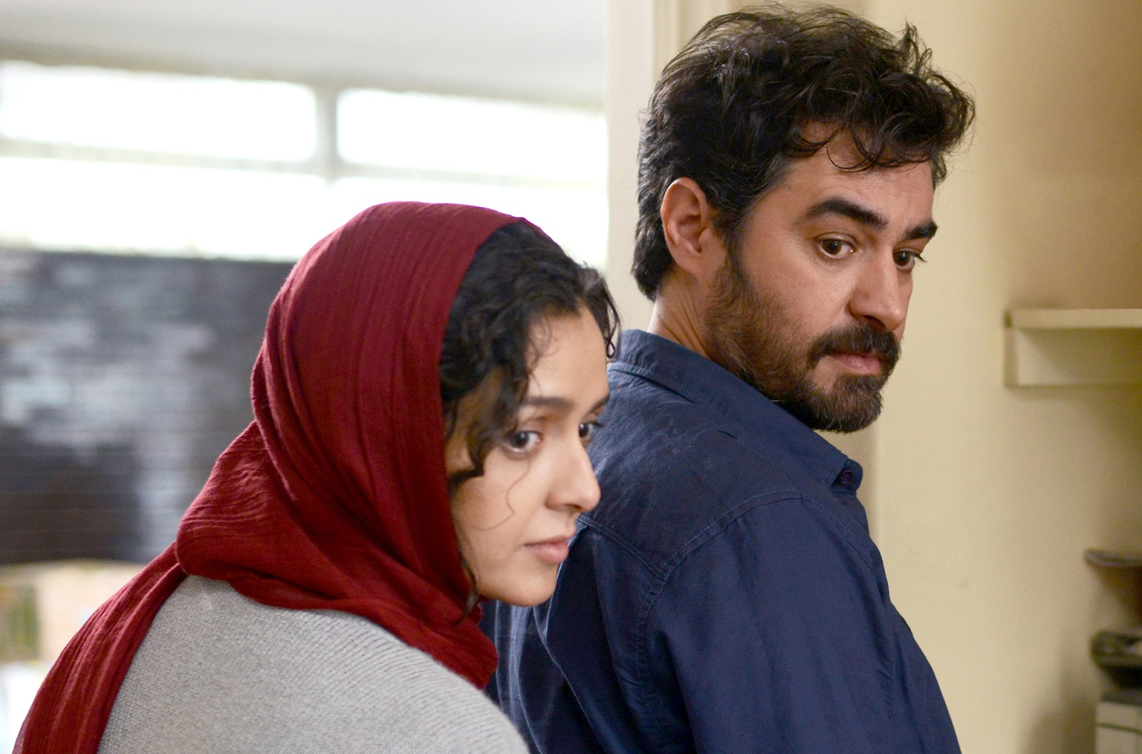 Rana (Taraneh Alidoosti), left, and Emad (Shahab Hosseini) are forced to relocate in 'The Salesman,' which has unexpected - and unsavory - side effects. (Habib Majidi/Cohen Media Group)