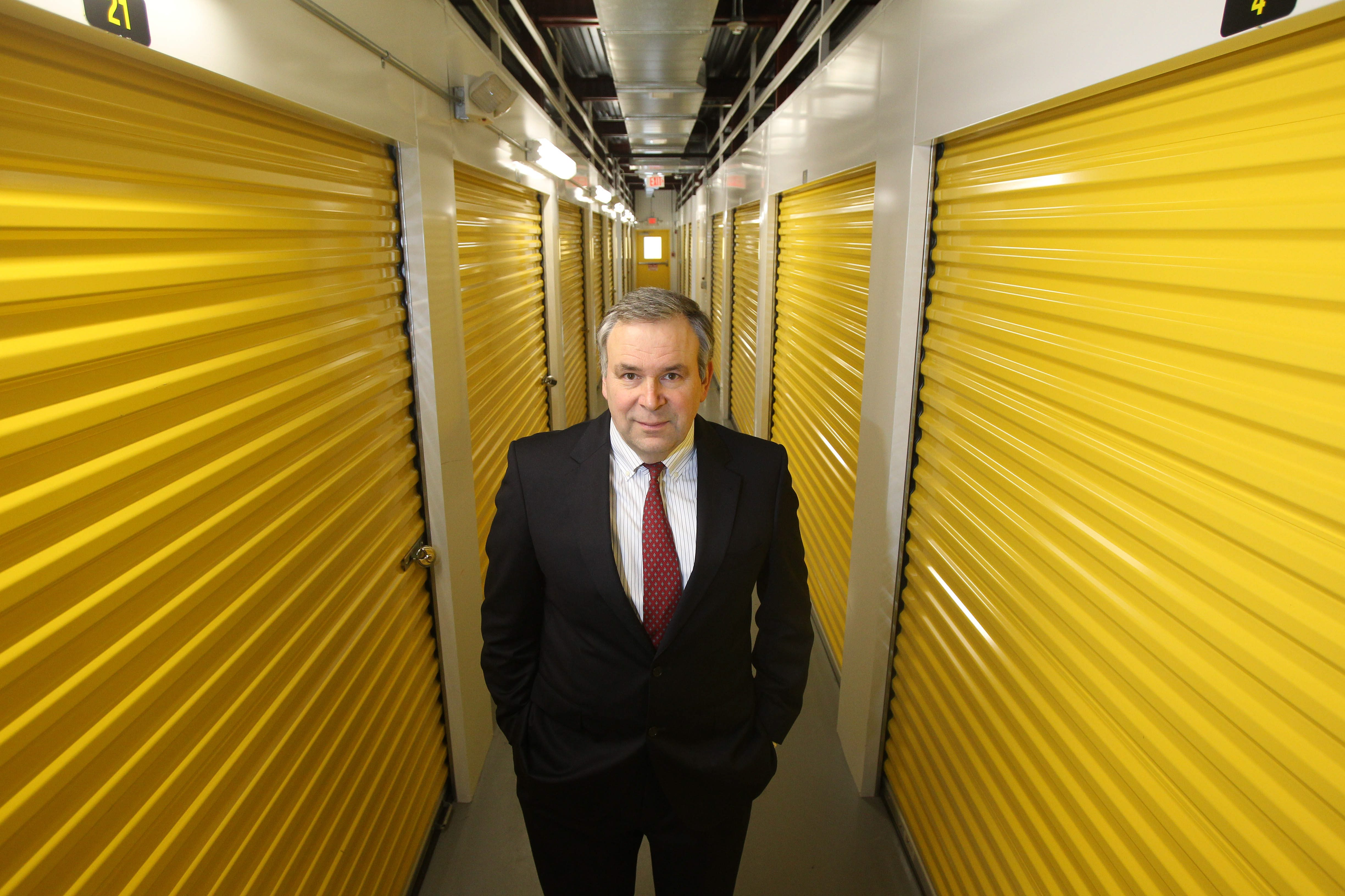 Life Storage CEO David Rogers said the Amherst real estate investment trust acquired 122 self storage facilities last year and moved into the California and Las Vegas markets.  (Mark Mulville / Buffalo News file photo)
