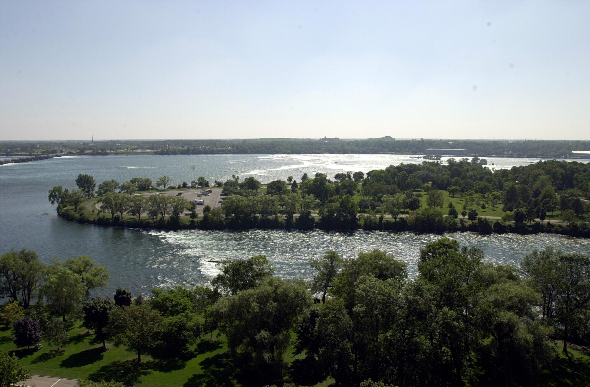 Niagara Falls officials argued that a tourist lodge would destroy the natural beauty of Goat Island. (James P. McCoy/News file photo)