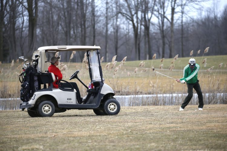 What? WNYers golfing in February?