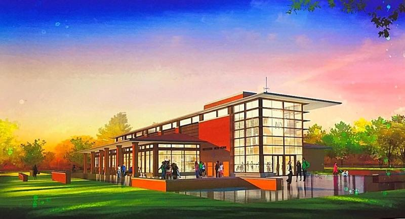 Preliminary plans for the Western New York  Welcome Center on Grand Island. (Provided by Town Supervisor Nathan McMurray).