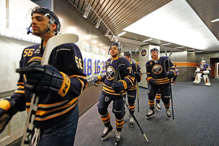 Sabres send Bailey, Baptiste, Rodrigues back to Amerks