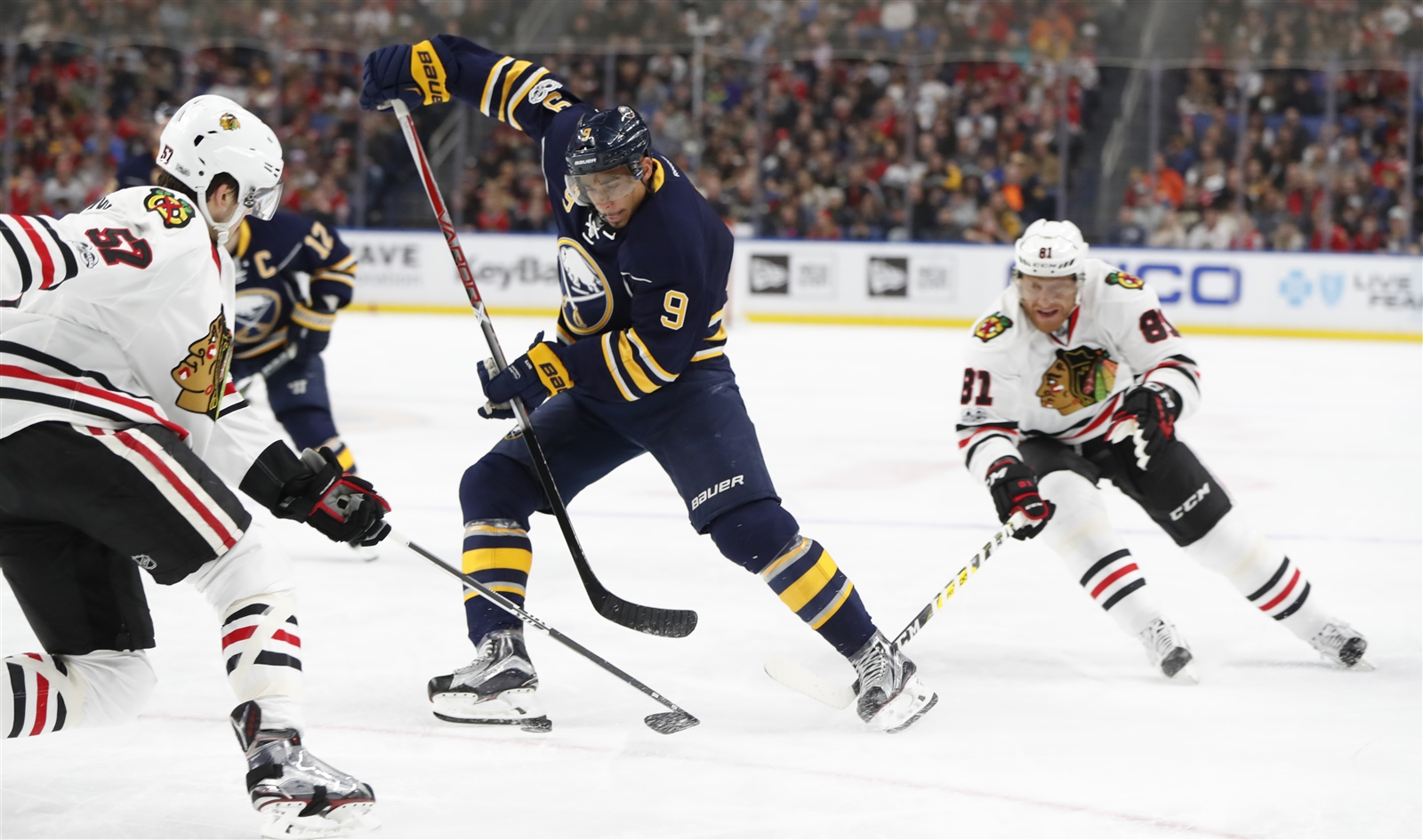 The Sabres need more players with Evander Kane's skill, not fewer. (Harry Scull Jr./Buffalo News)