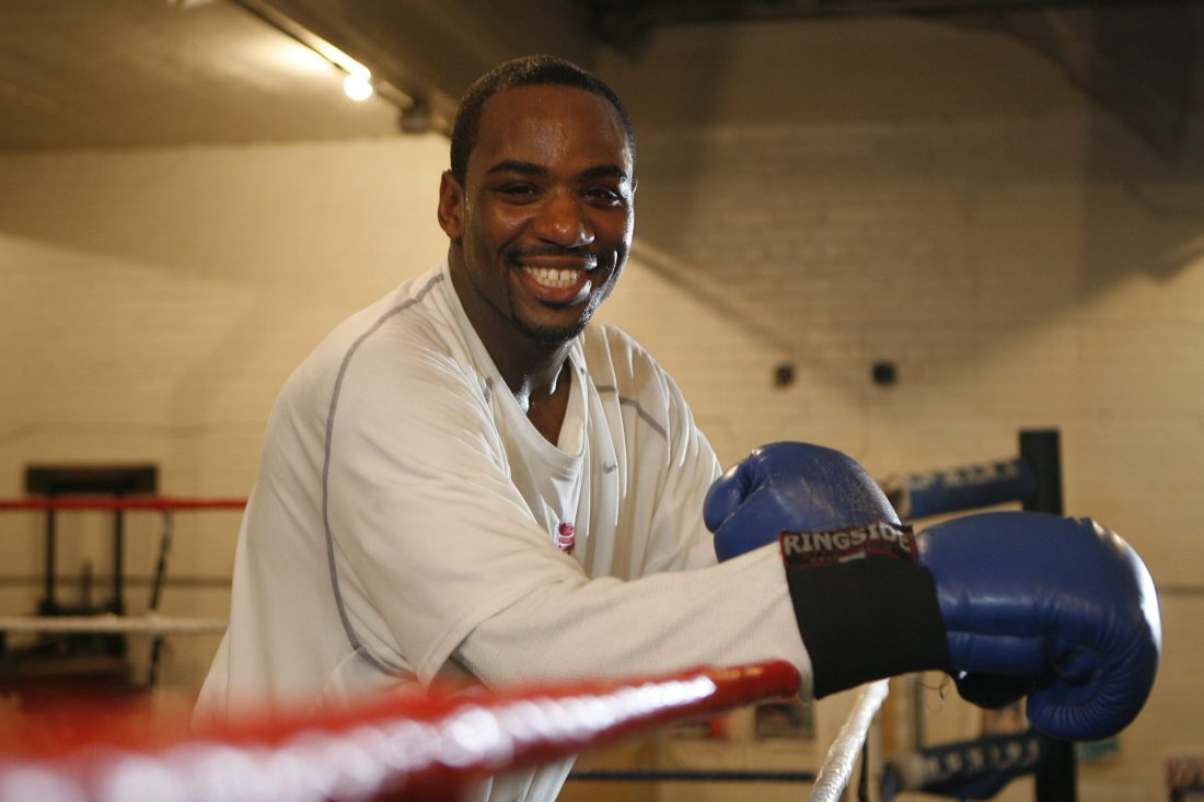 Lionell Thompson returns to the ring Friday night looking to win for the third time since being signed by Mayweather Promotions. (Sharon Cantillon/Buffalo News file photo)