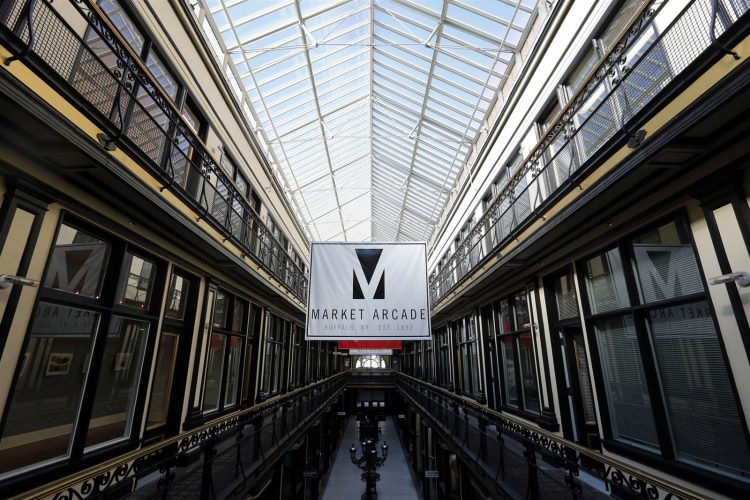European-like Market Arcade is a 'show stopper'