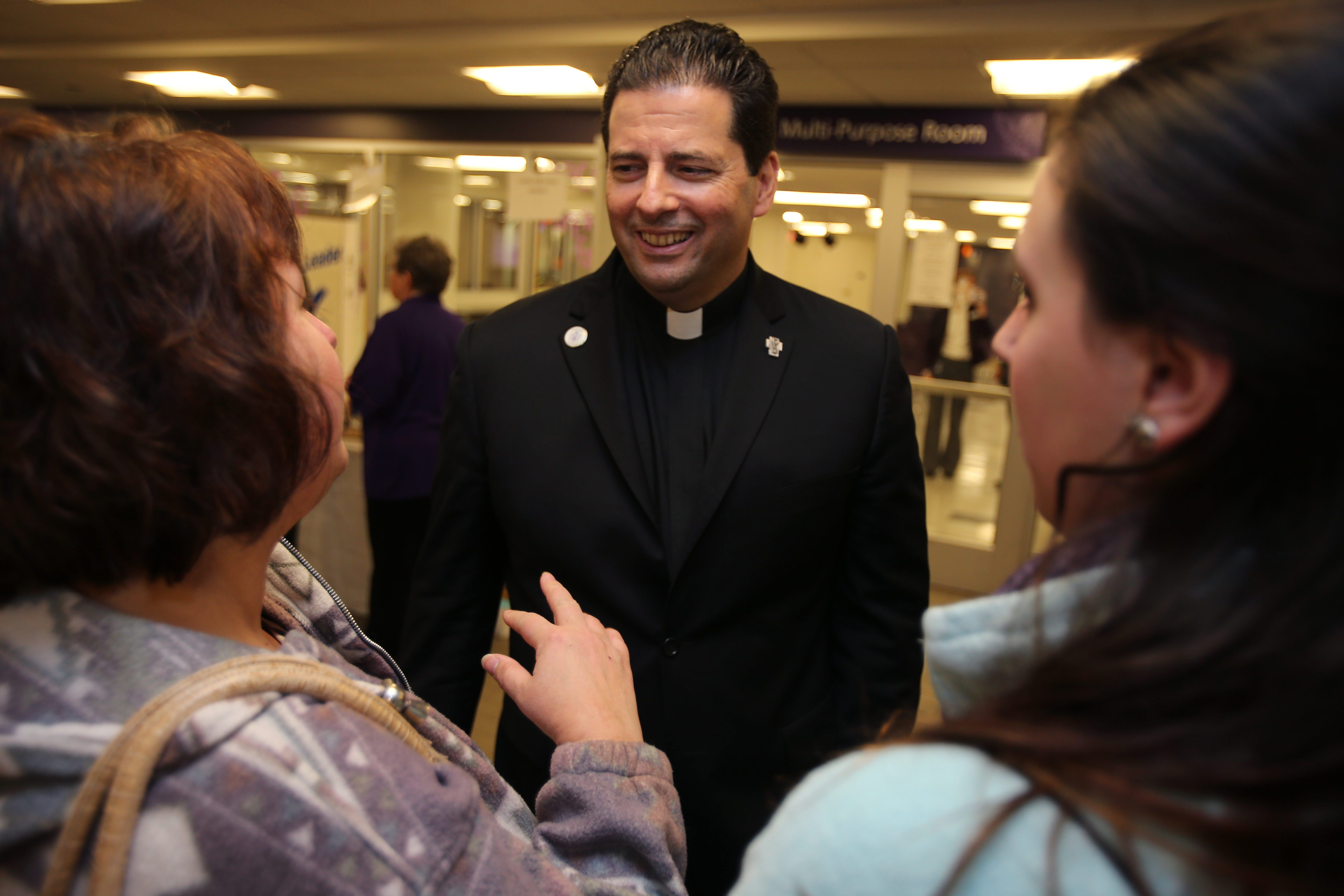 The Rev. James J. Maher, president of Niagara University, said the university is 'eager and grateful to have this opportunity to enhance the family-focused work of Help Me Grow.'