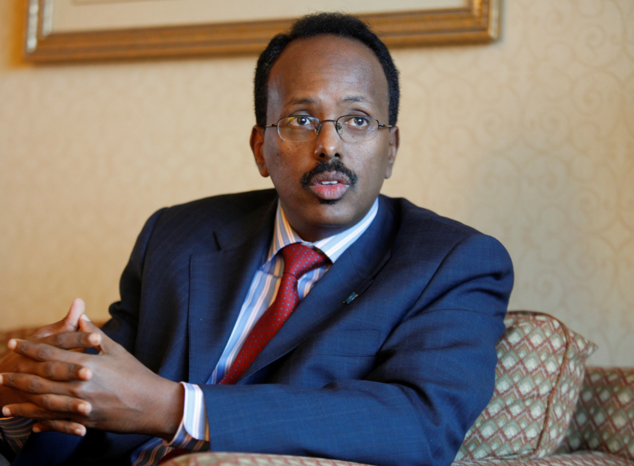 Mohamed A. Mohamed, a Grand Island resident and former prime minister of Somalia, has been elected president of the African country. (Buffalo News file photo)