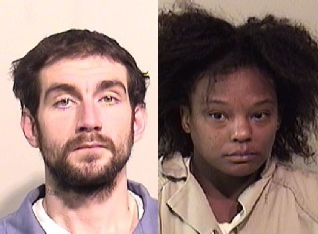 Shawn K. Pittler, 28, and Brittany R. Ubiles, 30, both of Lockport, are charged with burglary, petit larceny and criminal mischief. (Niagara County Sheriff's Office)