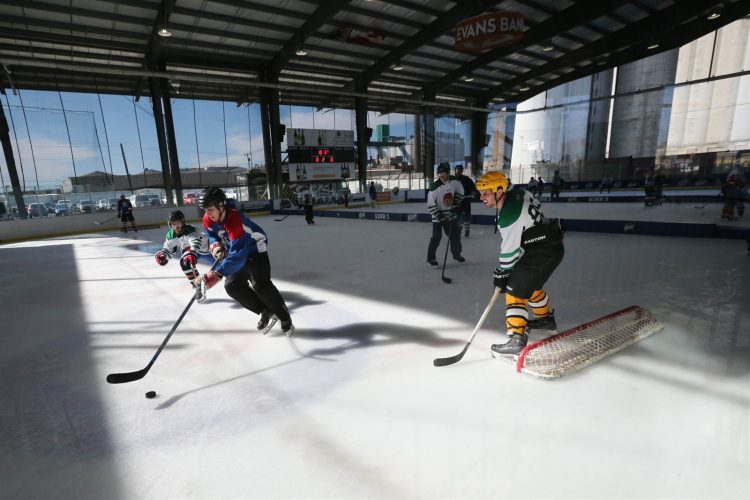 The 2017 Labatt Blue Pond Hockey Tournament