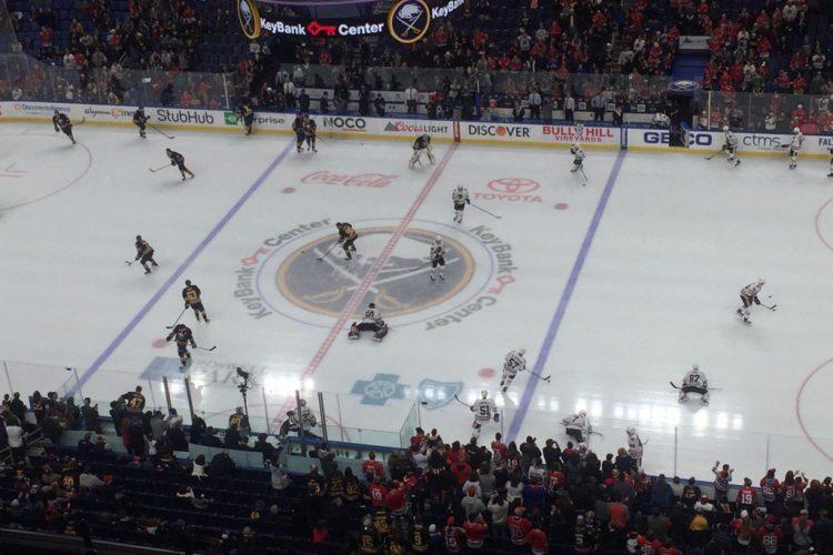 Live coverage: Chicago Blackhawks at Buffalo Sabres
