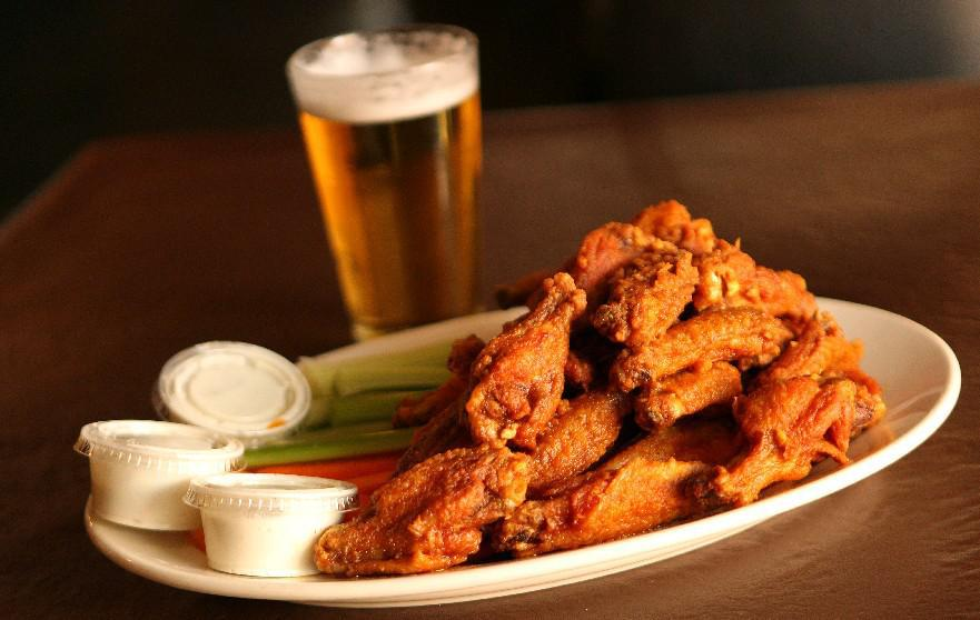 Buffalo loves chicken wings and beer, but moderation on both counts is always a good choice, even on Super Bowl Sunday. (Sharon Cantillon/Buffalo News file photo)