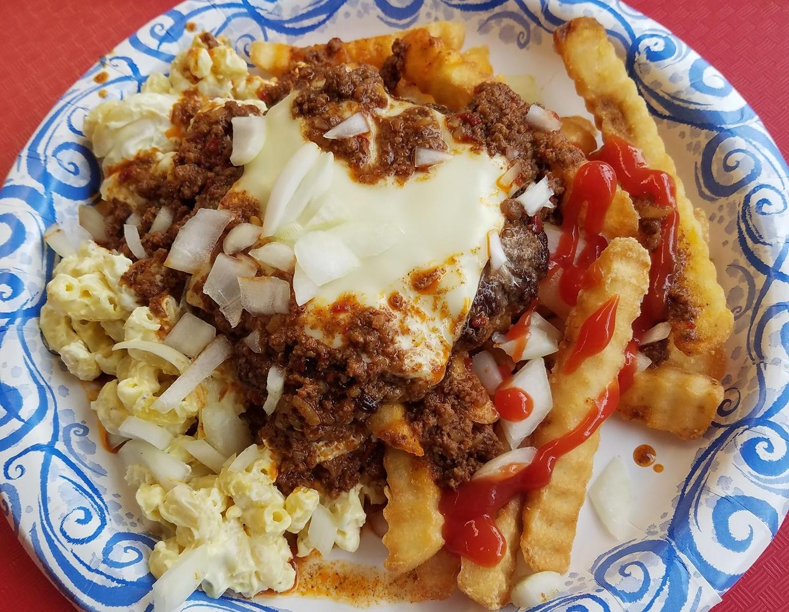 The Towne Grille offers a Towne Plate, similar to Rochester's famous Garbage plate. (The Towne Grille)