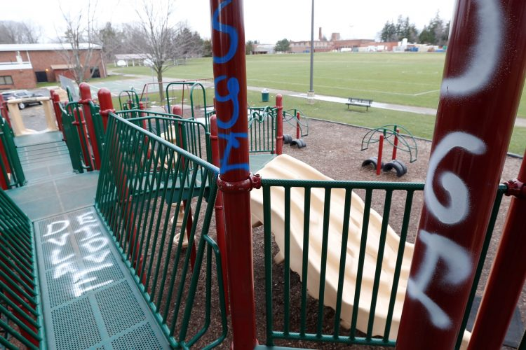 Vandals target Orchard Park cars, bridges with Nazi and racist graffiti