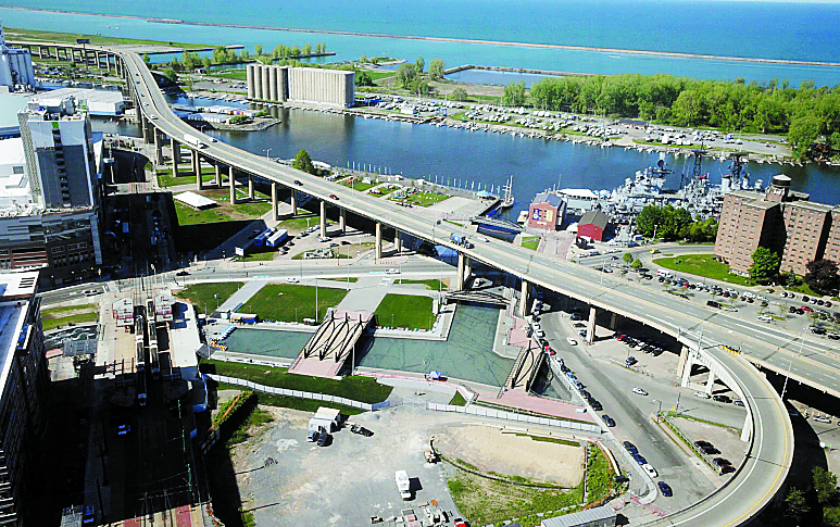 The Erie Canal Harbor Development Corp. is responsible for waterfront development. (John Hickey/Buffalo News file photo)