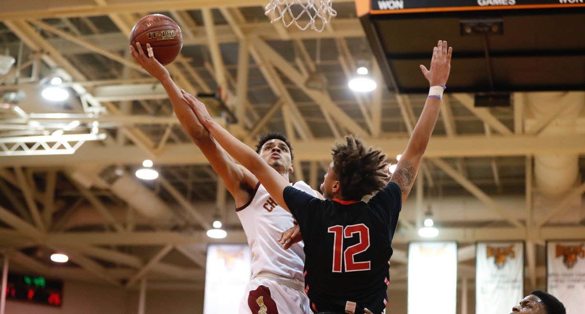 Cheektowaga senior Dominick Welch scored 13 of the 25 points he needed to set the Western New York career scoring mark during the first quarter of Tuesday night's Section VI Class A-2 semifinal against South Park. (Harry Scull Jr/Buffalo News)