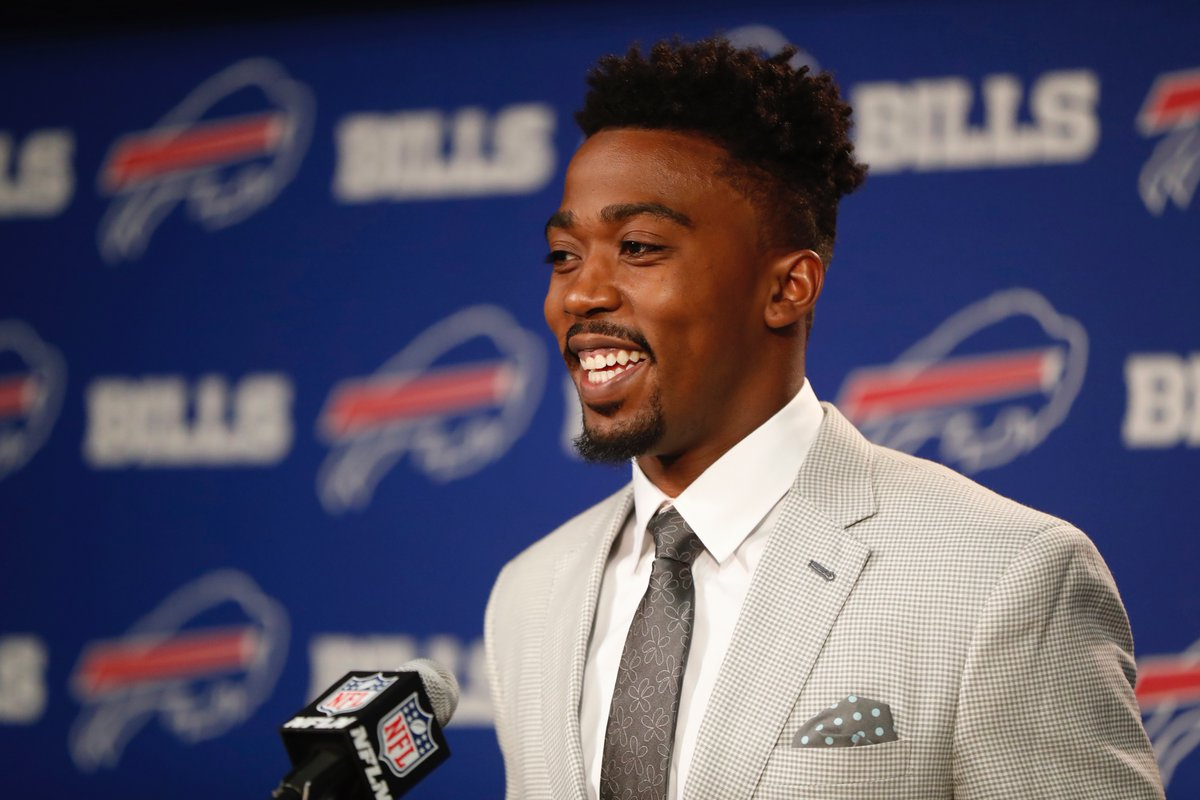 """"""" My whole career has been built on competition,' Bills QB Tyrod Taylor says. (Harry Scull Jr./Buffalo News)"""