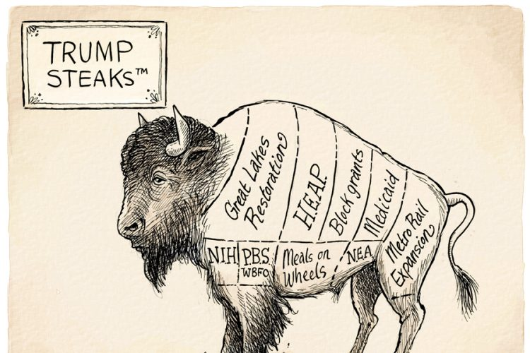 Adam Zyglis: Buffalo cuts
