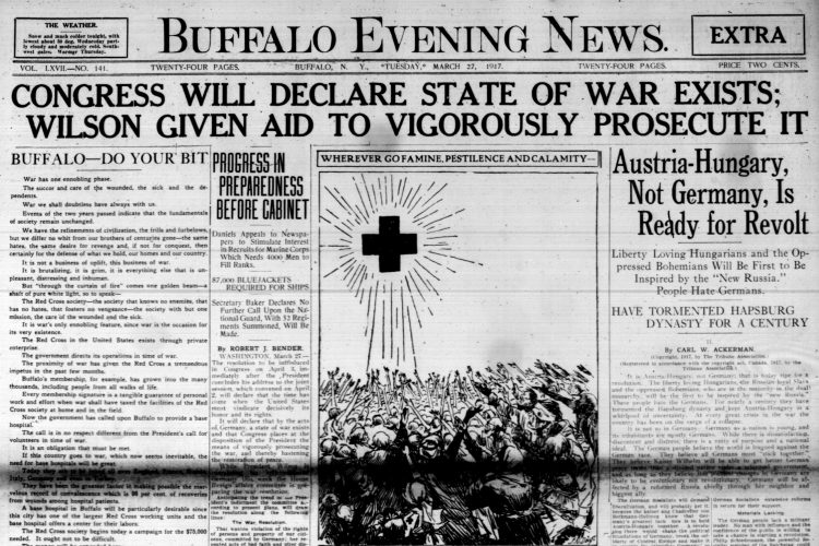 Front page, March 27, 1917: Theodore Roosevelt kills two octopuses