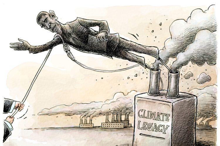 Adam Zyglis: Climate legacy