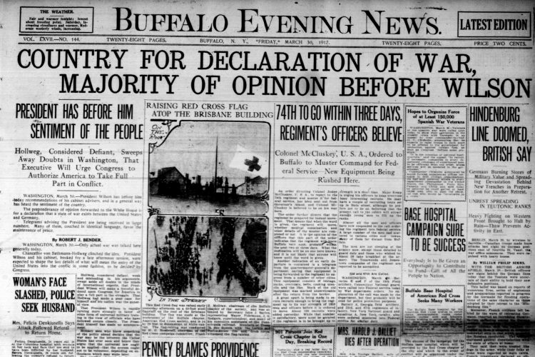 Front page, March 30, 1917: Mexicans walking in LaSalle Park questioned by police