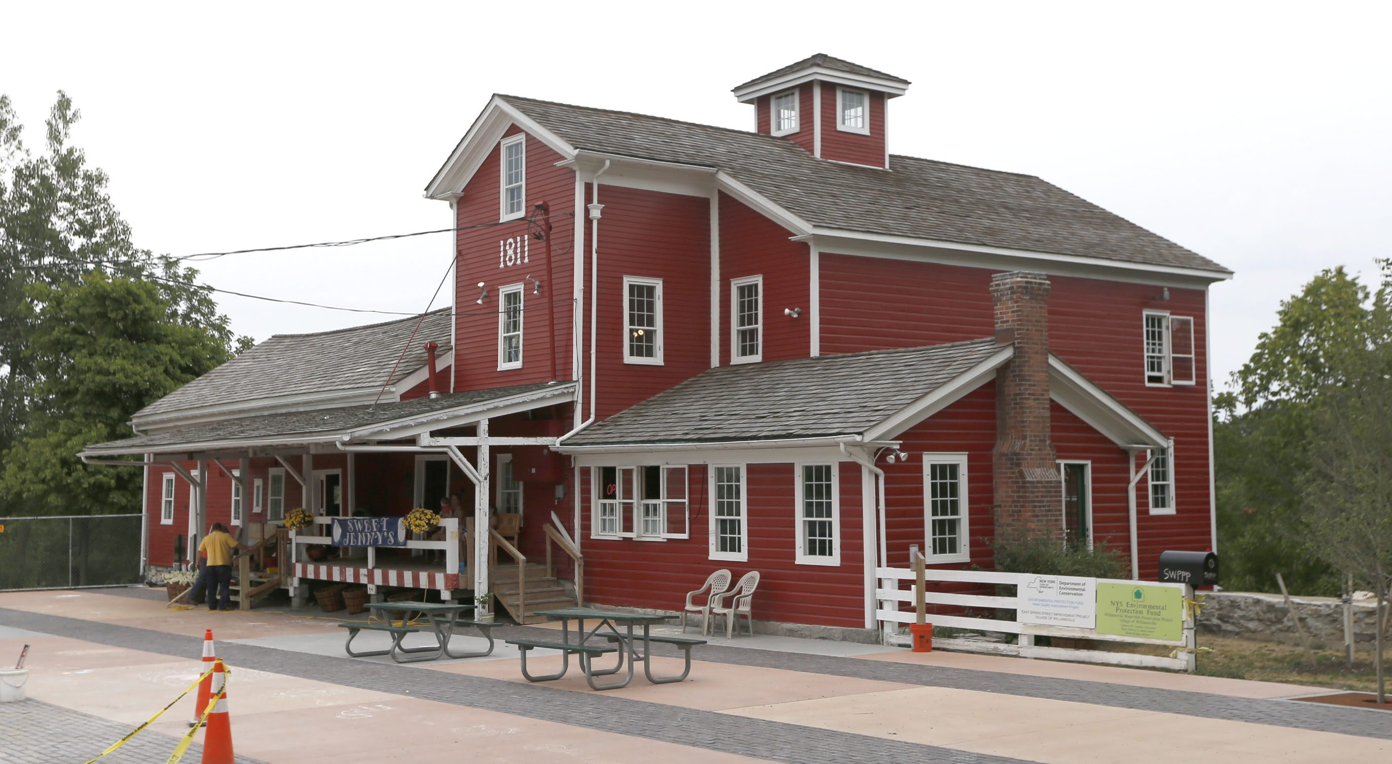 The addition of several commercial properties, including the Water Mill, back to the tax rolls helped drive the rate down for residential property owners, the Williamsville mayor said.  (Robert Kirkham/Buffalo News)