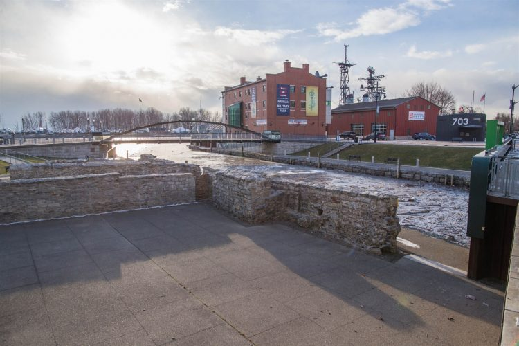 Then and Now: Canalside