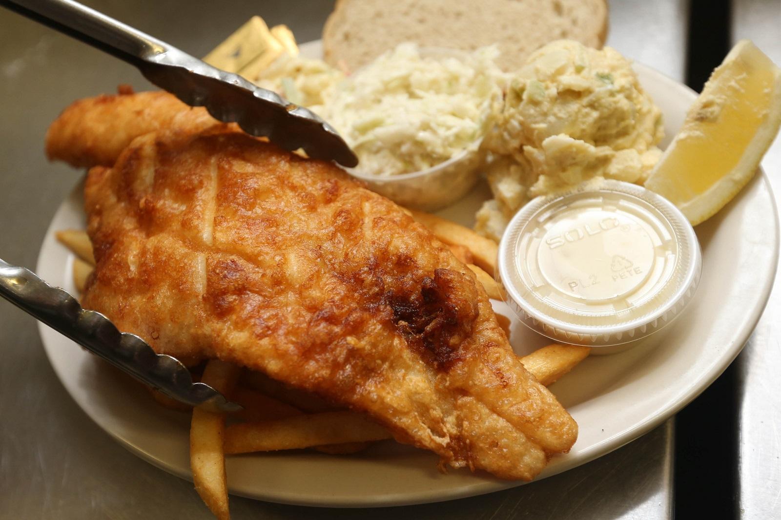 Fish fry at the Buffalo Irish Center