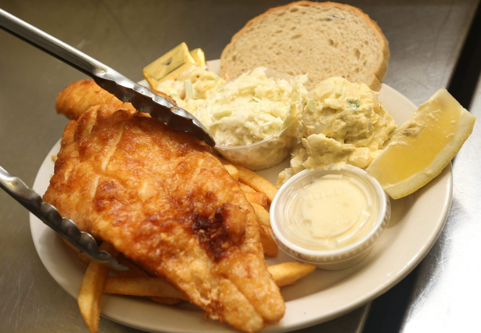 It's fish fry season in Buffalo. The Buffalo Irish Center in South Buffalo begins its fish fry at 4 p.m. on Fridays. (Sharon Cantillon/Buffalo News)