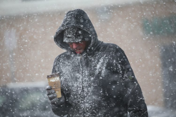 National Weather Service forecasters are watching a system that could bring the first blast of lake-effect snow to the region this weekend.  (Sharon Cantillon/Buffalo News file photo)