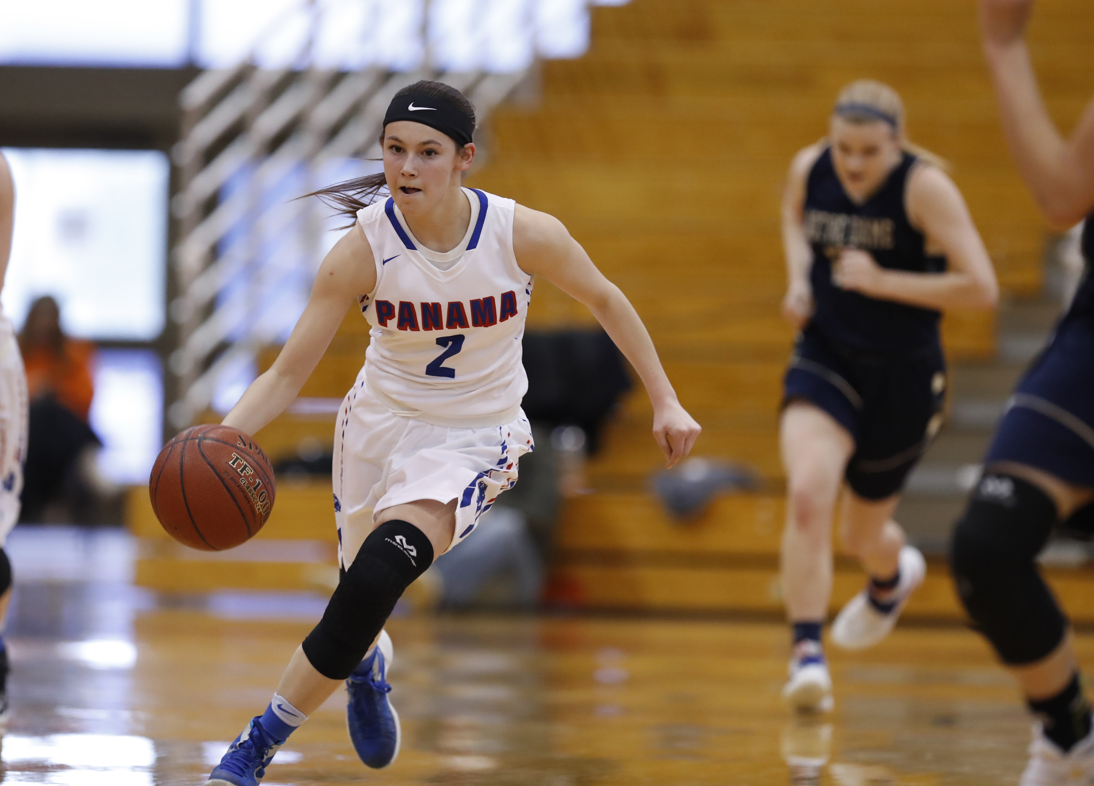 Tara Sweeney has moved from a sixth-person role to starter in helping Panama reach its third straight New York State Public High Schools Athletic Association final four. (Harry Scull Jr./Buffalo News)