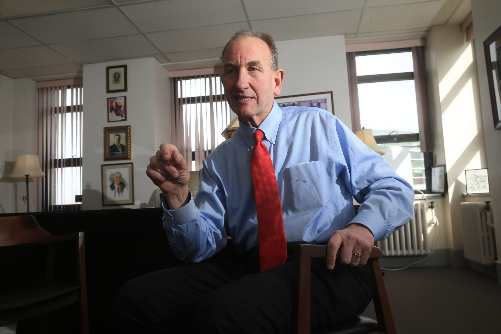 Buffalo Comptroller Mark Schroeder calls Mayor Brown's proposed 2018-19 budget an exercise in 'fuzzy math.' (John Hickey/News file photo)