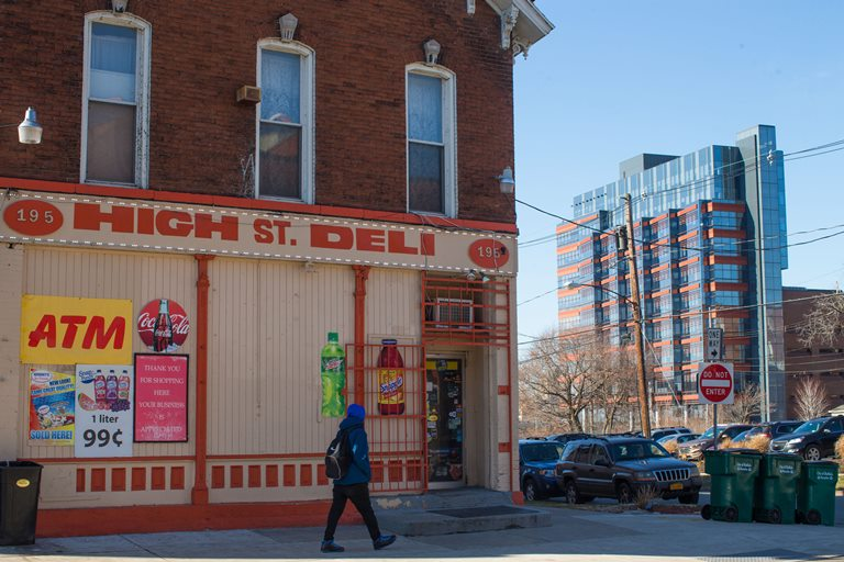 The High Street Deli on High Street in the Fruit Belt, Wednesday, March 22, 2017.  (Derek Gee/Buffalo News)