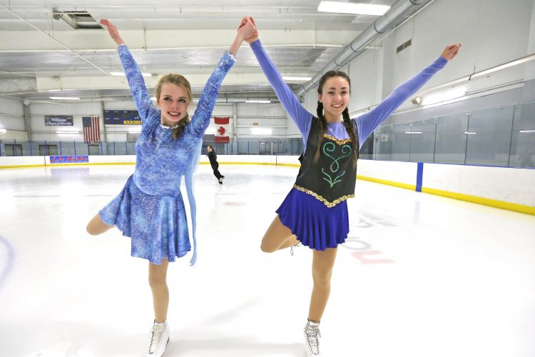 Skaters overcome health challenges for Gliding Stars ice show