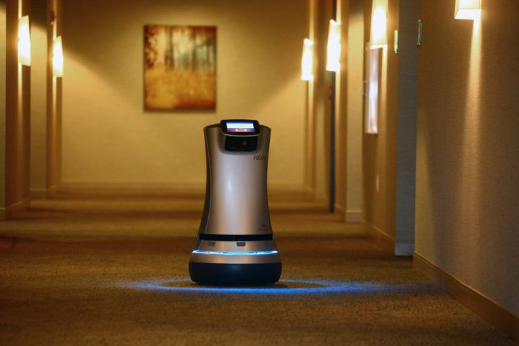 Robot butler, at your service at Westin Buffalo