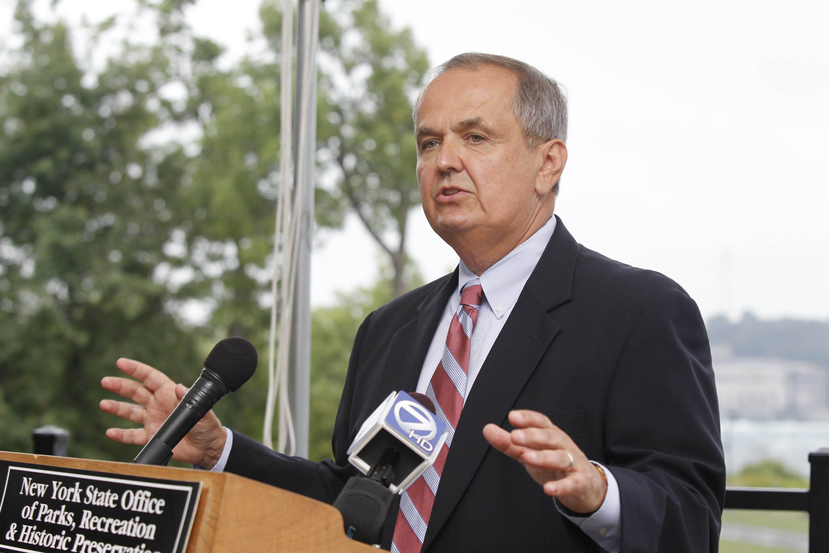 A grand jury heard testimony Thursday in the investigation of former State Sen. George Maziarz and his campaign finances. (Harry Scull Jr. / Buffalo News file photo)
