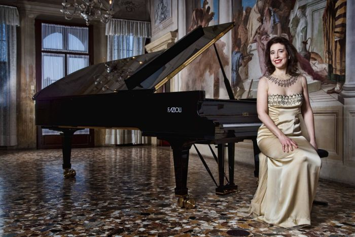 Angela Hewitt is giving a concert with the Buffalo Philharmonic Orchestra, as well as a recital and a master class.