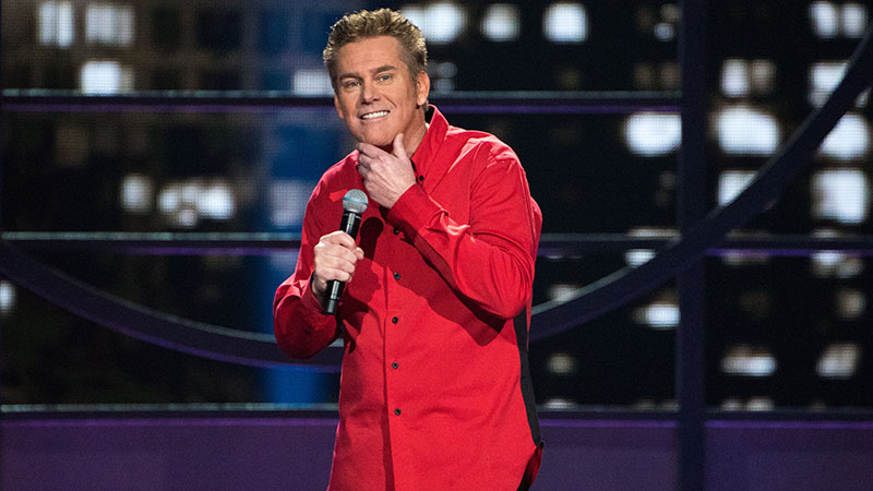Veteran comedian Brian Regan will perform at Seneca Niagara Casino March 18. (Photo by Brian Friedman)