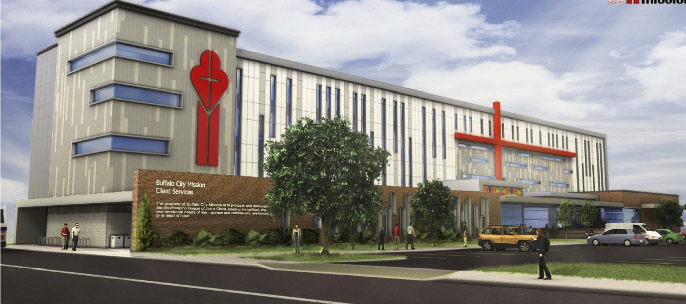 The Buffalo City Mission won approval Monday from the Buffalo Planning Board for its $15.1 million proposal to construct a new four-story complex in downtown Buffalo to house its growing operations. (Provided by City Mission)