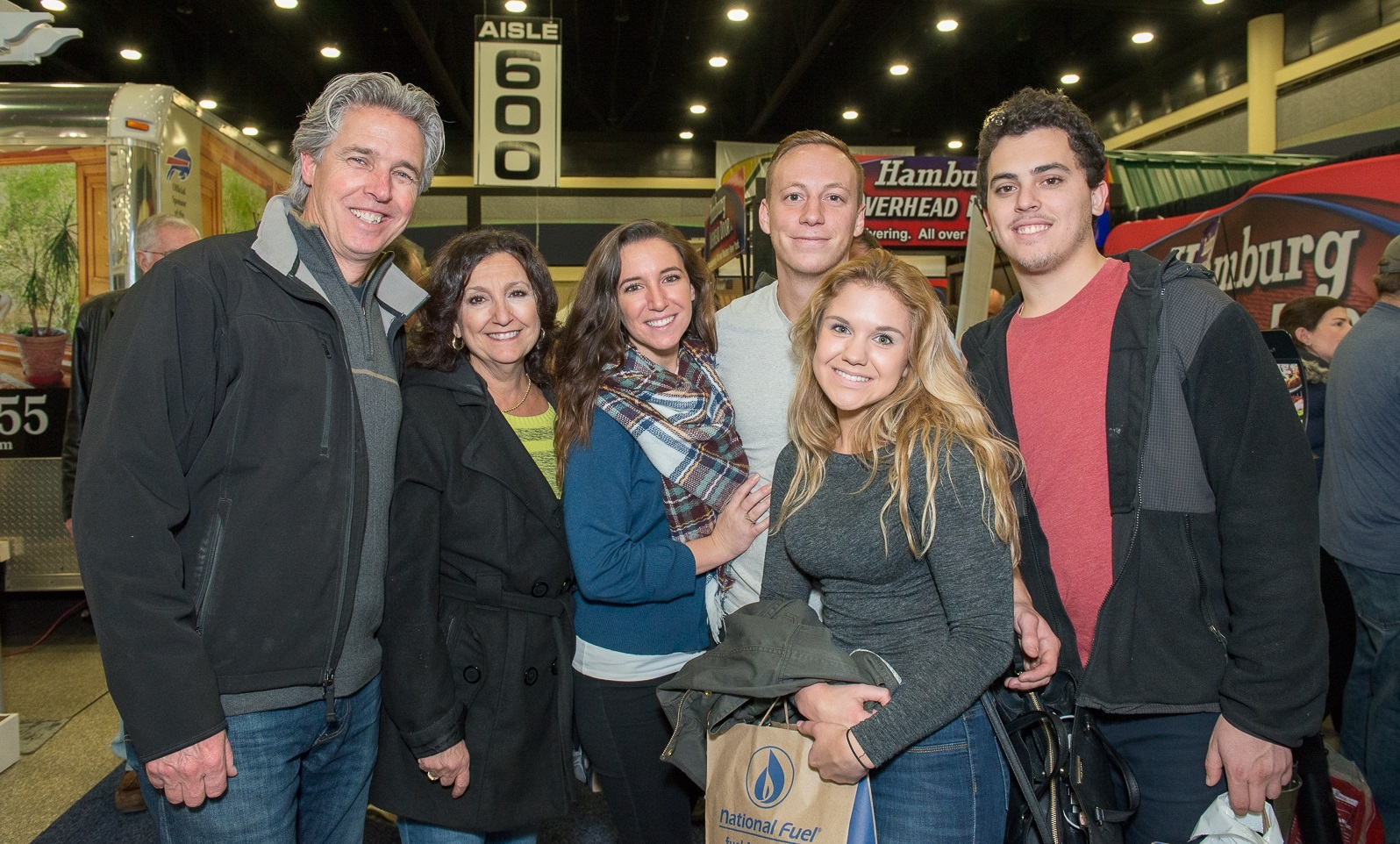 Smiles at Buffalo Home Show in BNCC