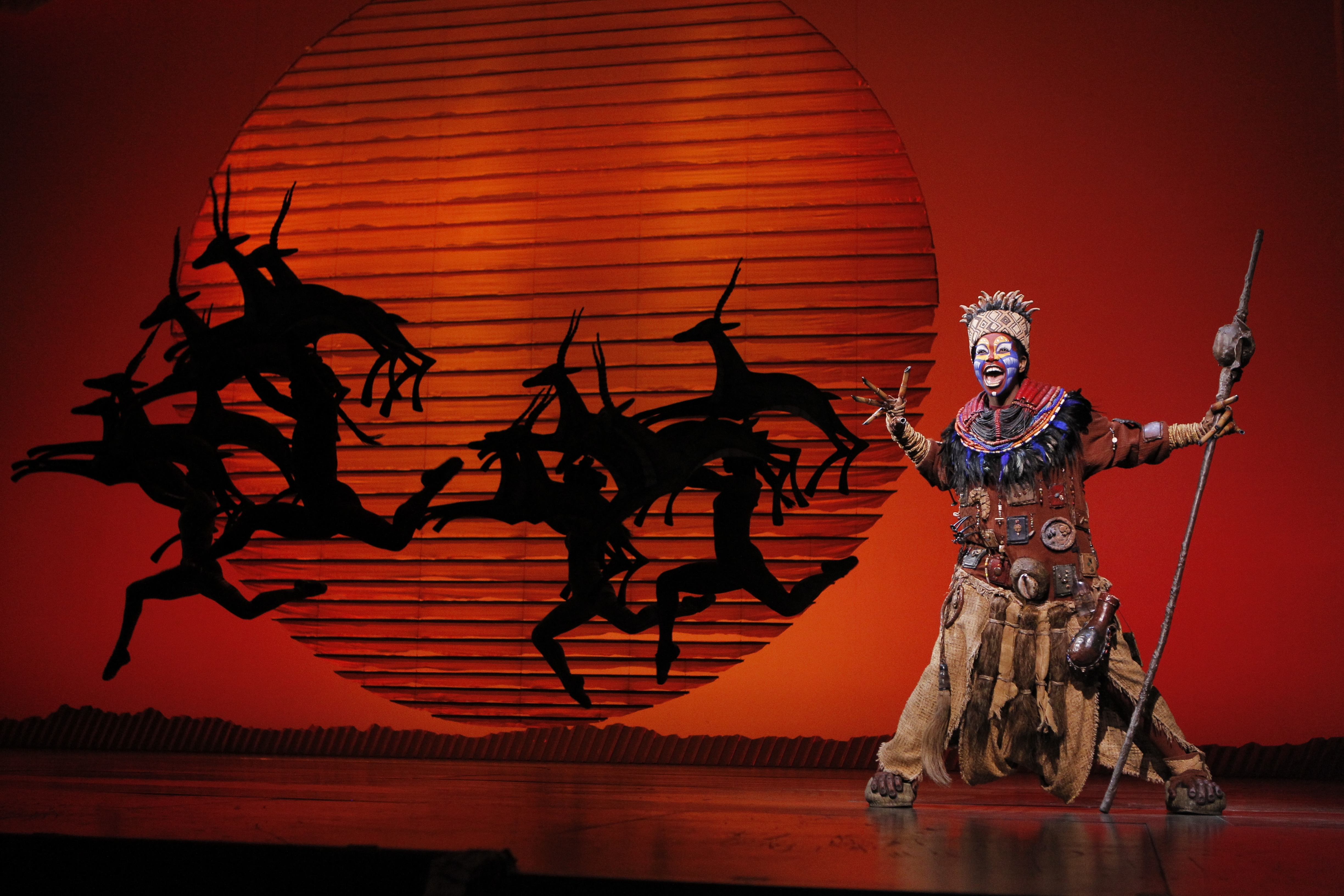"The North American tour of Disney's ""The Lion King"" plays Shea's for a monthlong run, from Dec. 13 to Jan. 7, 2018."