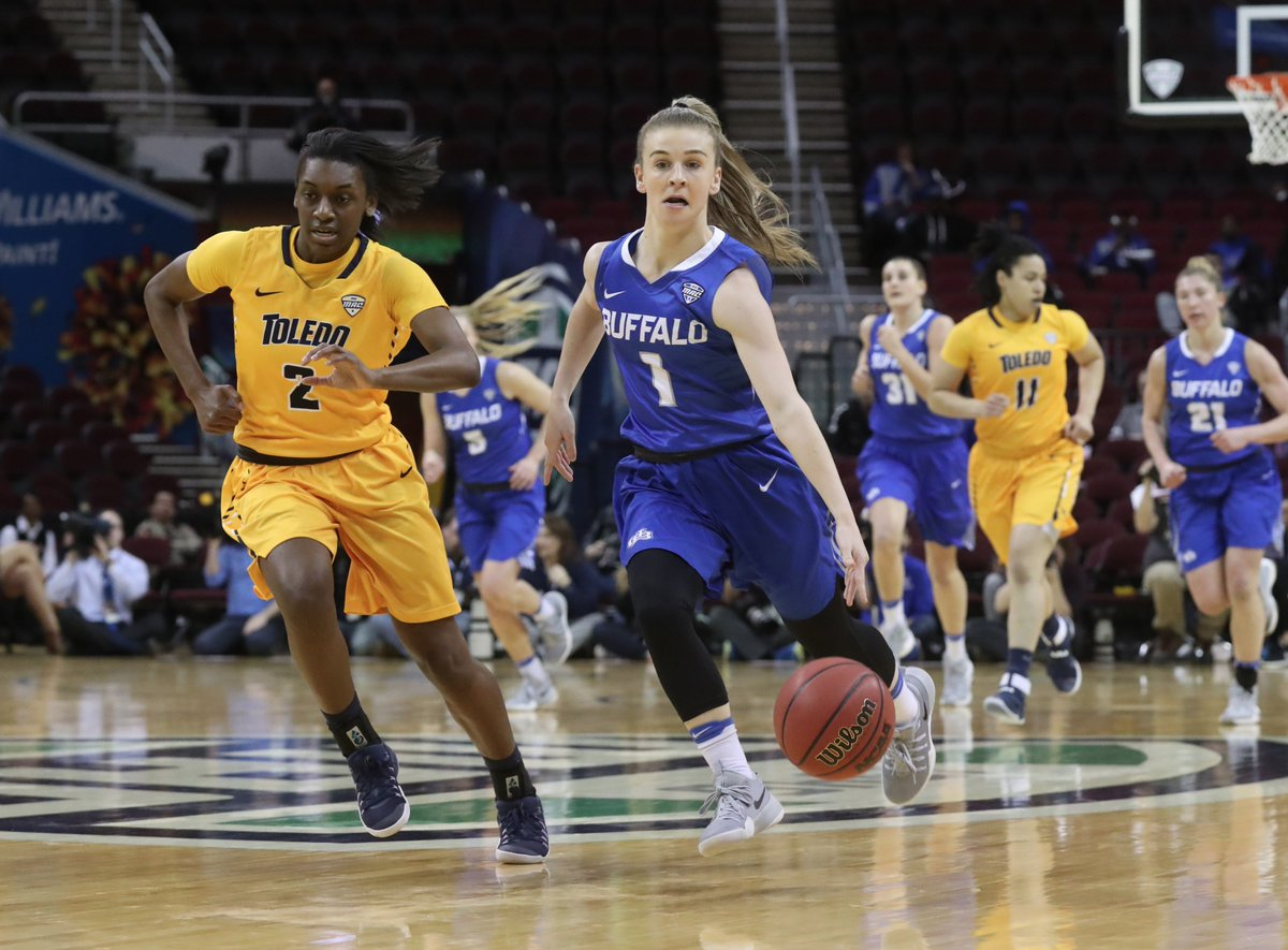 Stephanie Reid is one of several standouts returning for a UB team that's expected to make some noise in the MAC this season. (James P. McCoy/Buffalo News)